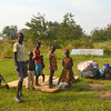 Children on the UNMISS compound in Yei, January 8.