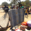The Rhino Refugee Camp near Arua hosts over 6,000 South Sudanese refugees, January 11.