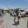 IDPs at the UNMISS POC camp in Bentiu, October 10, 2014.