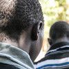 The SPLA handed over two former child soldiers in Juba, March 27, 2015. The two children were captured by the SPLA in Raja County on March 16, from the Sudan People's Liberation Movement-in-Opposition (SPLM-IO).