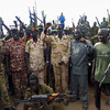 SPLA-IO rebels posing for a picture in Nyal, Unity State, May 15, 2015.