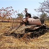 Many South Sudanese wish the rebels would turn their tanks into tractors.