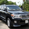A V8 Toyota Land Cruisers in Juba, June 23, 2015. (photo: The Niles | Deng Machol Monyrach)