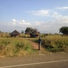 A tukul along the road leading from Juba to Nimule, December 17, 2012.