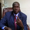 Goc Makuach Mayol, Chairman of the Economy, Development and Finance Committee, in South Sudan's Parliament, Juba, February 15, 2015. (photo: The Niles | Deng Machol Monyrach)