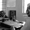 A simulated radio talk-show during a training in Morobo, South Sudan, June 15, 2013.