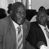 South Sudan's Information Minister, Michael Makuei Lueth speaking to journalists in Juba on Tuesday, April 19, 2016. (photo: The Niles | Mugume Davis)