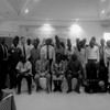 Government officials, fishermen and UNIDO representatives following a meeting in Juba on May 4, 2016. (photo: The Niles | Lisi Emmanuel)