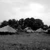A deserted homestead between Morobo and Yei on August 3, 2007. (photo: The Niles | Dominik Lehnert)