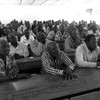 Lecturers during a meeting at the University of Juba, discussing their strike on June 6, 2016. (photo: The Niles | Davis Mugume)