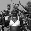 A women during South Sudan's Independence Anniversary celebrations in Juba, July 9, 2015. (photo: The Niles | Davis Mugume)