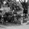 Boda boda riders waiting for customers in Yei on June 10, 2016.