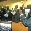 The swearing-in ceremony in Juba.