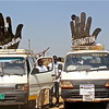 Looking at dominant symbols in Juba, the direction seems clear: Secession.
