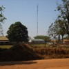 The Esther FM radio mast recently erected in Yei
