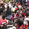 Some of the women displaced by the fighting in Southern Kordofan waiting for humanitarian assistance.