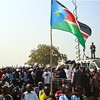 Tens of thousands of people attended the official declaration of independence in Juba, July 9, 2011.