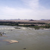 The Nile at Kajbar where the next large dam on the Middle Nile is to be built.