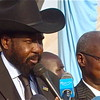 The draft constitution was handed to Southern Sudan's President, Salva Kiir on 20 April.
