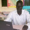 Loburi Alex William.  General Manager of Spirit FM in Yei
