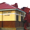 The roof of the Magwi County Council Hall was blown off by strong winds.