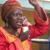 SPLM Deputy Secretary General Dr. Anne Itto campaigning for people to register to vote In Juba