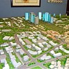A scale model of the new capital of Southern Sudan.