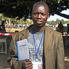 Ale Alex Samuel, one of the local referendum observers in Yei County.