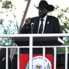 South Sudan's President Salva Kiir Mayardit pledged to combat corruption.