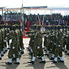 SPLA forces marched at Martyrs' Day commemorations in Juba.