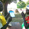 Time to choose between unity and secession: a voter in Yei.