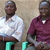 Toti Jacob and Alex Towongo, two Juba students