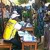 Pregnant women and mothers with very young children are not required to queue during the voting period.