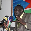 Yien Mathew, SPLM spokesperson and National Secretary for Information and Culture.