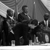 President Salva Kiir Mayardit signs the IGAD peace agreement in Juba on August 26, 2015. (photo: The Niles | Waakhe Simon Wudu)