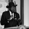 South Sudan President Salva Kiir Mayardit addressing the press in Juba, June 10, 2013. (photo: The Niles | Waakhe Simon Wudu)