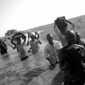 South Sudanese escaping the war in Upper Nile State, January 14, 2014. (photo: The Niles | Francis Michael)