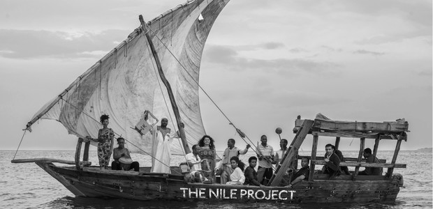 The Nile Project is a collective of musicians from countries along the river Nile. (photo: Nile Project, Peter Stanley)