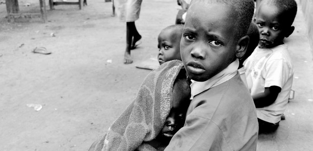 Children waiting to receive medication in Kajo Keji, May 2, 2014. (photo: The Niles | Pascal Ladu)