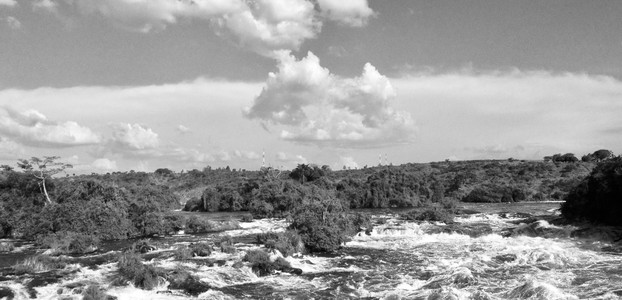 The ⁨Victoria Nile⁩ near Karuma, ⁨Uganda⁩, 17. December 2012. (photo: The Niles | Nik Lehnert)